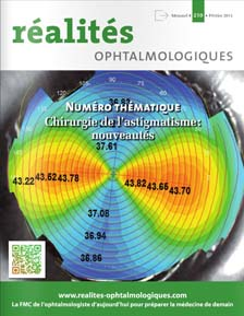 realités ophtalmologiques patrick loriaut